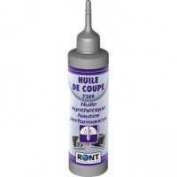 Huile de coupe en burette, 250 ml ront production
