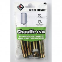Kit chevilles à expansion chauffe-eau red head, diam.16 x l.65 mm