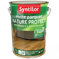 Huile parquet nature protect syntilor, incolore, 5 l