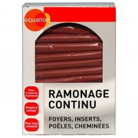 Ramonage continu bois equation, 14 sachets de 70 gr