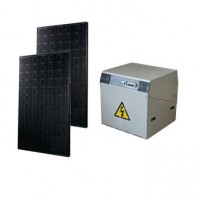 Kit solaire complet power watt&home 370w, onduleur 600w, batterie 300ah