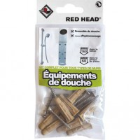Kit chevilles à expansion douche red head, diam.8 x l.32 mm
