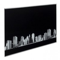 Fond de hotte verre décor new york h.70 cm x l.60 cm