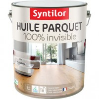 Huile parquet 100% invisible syntilor, incolore, 5 l