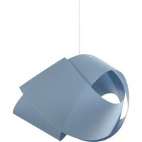 Suspension, e27  node coton bleu baltique n°3 1 x 60 w inspire