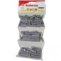 Assortiment de 130 chevilles à expansion sx fischer