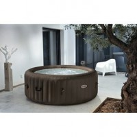 Spa gonflable intex purespa jets rond, 4 places assises