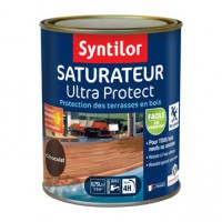 Saturateur pour bois ultra protect syntilor chocolat, 750 ml