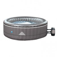 Spa gonflable poolstar malibu rond, 4 places assises