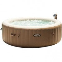 Spa gonflable purespa 28408ex rond, 6 places assises