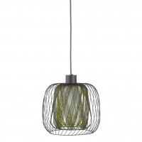 Suspension forestier - bodyless - suspension gris/vert Ø23cm