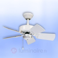 Ventilateur de plafond royal 75 blanc