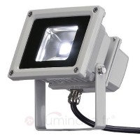 Projecteur d'ext. led outdoor beam 10 w blancfroid