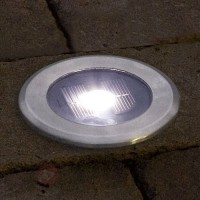 Spot encastrable dans le sol solar light led