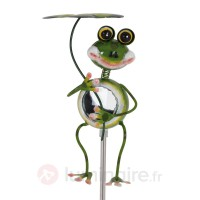 Lampe solaire originale stehender frosch led