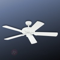 Ventilateur de plafond blanc monarch
