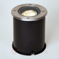 Spot encastrable led inox, inclinable, ip67
