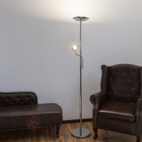 Lampadaire à éclairage indirect led malea