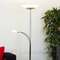Lampadaire à éclairage indirect led minda brillant