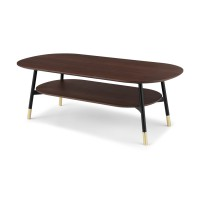 Amalyn, table basse, noyer