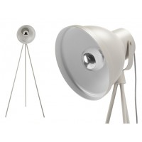 Ted, lampadaire, gris