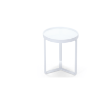 Aula, table d'appoint, blanc