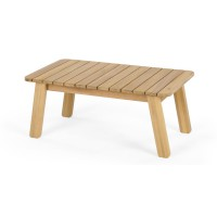 Jala, table basse, bois d'acacia