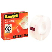 Ruban scotch crystal clear 19mm x 33m