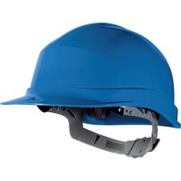 Casque de protection ajustable bleu