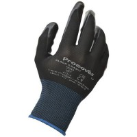 Gants de manutention nylon black granit enduction nitri le taille 9