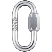 Maillon rapide inox diam 25mm ouvert=3.5mm charge 100 kg