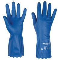 Gants de manutention polyvinylsoft 10 bleu