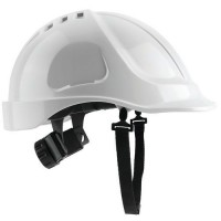 Casque de protection de protection abs + blanc