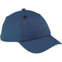 Casquette de protection base ball cap b leue marine