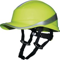 Casque de protection diamond v up jaune