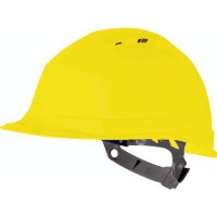 Casque de protection chantier quartz1 jaune