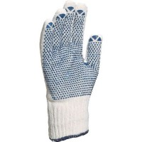 Gants de manutention polyester/coton picot 1 face 9