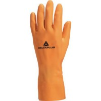 Gants de manutention latex lourd orange 9/10