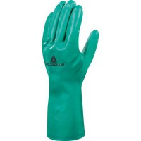 Gants de manutention nitrile vert 33cm 9