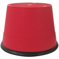 Marchepied mobile polypropylene rouge,