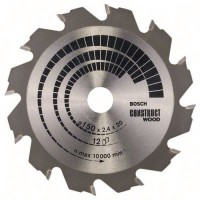 Lame scie circulaire construct wood 150 x 20/16 x 2,4mm, 12,