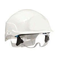 Casque de protection chantier spectrum blanc