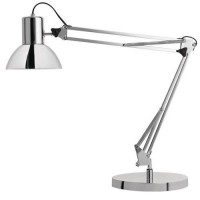 Lampe atelier sucess 80 chrome 2 led 11w