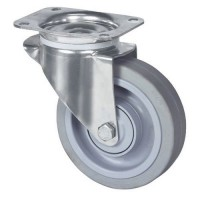 Roulette pivotante inox charge 300 kg