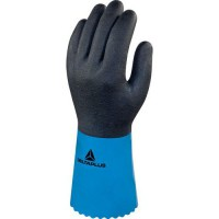 Gants de manutention pvc/nitrile bleu 09 vv836