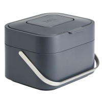 Poubelle intelligent waste stack 4 graphite,