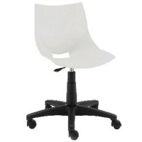Chaise cool roulettes 2319 blanc,