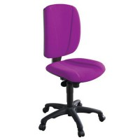Chaise de bureau astral contact permanent 378 magenta