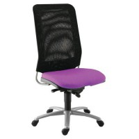 Chaise diaz contact synchrone pièt. alu assise 378 magenta,