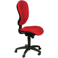 Chaise harmonia dossier maxi 1912 rouge,